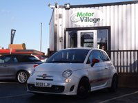 USED 2009 59 ABARTH 500 1.4 ABARTH 3d 135 BHP Full Service History.New Mot On Purchase. Sporty Fiat 500. Red leather & great spec.
