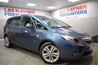 USED 2014 14 VAUXHALL ZAFIRA TOURER 2.0 SRI CDTI 5d 162 BHP Full Service History, 7 seats, Privacy glass, Parking Sensors
