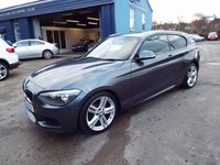USED 2013 62 BMW 1 SERIES 1.6 116I M SPORT 3d 135 BHP FULL SERVICE HISTORY STORED ON CAR COMPUTER