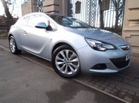USED 2014 14 VAUXHALL ASTRA 2.0 GTC SRI CDTI S/S 3d 162 BHP *** FINANCE & PART EXCHANGE WELCOME *** HALF LEATHER INTERIOR STOP/START AIR/CON CRUISE CONTROL