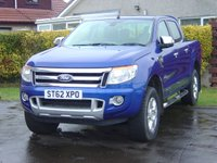 2012 FORD RANGER 2.2 LIMITED 4X4 DCB TDCI 1d 148 BHP SOLD