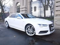 USED 2016 66 AUDI A7 3.0 SPORTBACK TDI ULTRA S LINE 5d AUTO 215 BHP ****FINANCE ARRANGED***PART EXCHANGE***1OWNER***SAT NAV***AUDI WARRANTY SEP 2019***