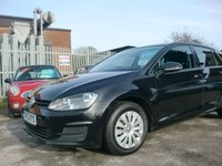 USED 2013 13 VOLKSWAGEN GOLF 1.6 S TDI BLUEMOTION TECHNOLOGY 5d 103 BHP 1 FORMER KEEPER F.S.H FREE ROAD TAX