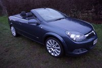 "USED 2006 06 VAUXHALL ASTRA 1.8 TWIN TOP DESIGN 3d 140 BHP,HALF LEATHER,18""ALLOYS,FSH 11 STAMPS"