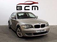 2008 BMW 1 SERIES 2.0 123D SE 2d 202 BHP £5500.00