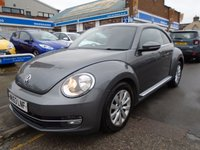 USED 2013 63 VOLKSWAGEN BEETLE 1.6 DESIGN TDI BLUEMOTION TECHNOLOGY 3d 104 BHP