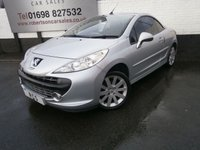 USED 2008 08 PEUGEOT 207 1.6 GT COUPE CABRIOLET 2dr AFFORDABLE CONVERTIBLE