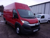 USED 2015 15 CITROEN RELAY 2.2 35 HEAVY L4H3 HDI 130 BHP