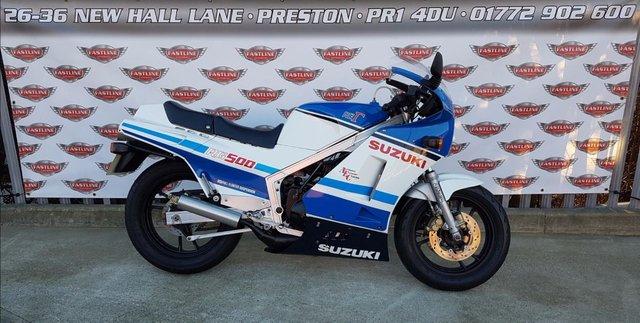 View our SUZUKI RG500