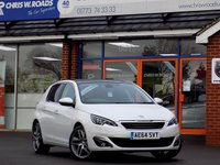 USED 2014 64 PEUGEOT 308 1.6 THP FELINE 5dr * Pan Roof & Sat Nav * *ONLY 9.9% APR with FREE Servicing*