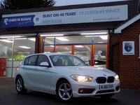 USED 2016 66 BMW 1 SERIES 1.5 116D SE BUSINESS 5dr * Sat Nav * *ONLY 9.9% APR with FREE Servicing*
