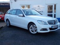 2013 MERCEDES-BENZ C CLASS 2.1 C220 CDI BLUEEFFICIENCY EXECUTIVE SE 5d AUTO 168 BHP £12750.00
