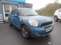 USED 2011 60 MINI COUNTRYMAN 1.6 COOPER S ALL4 5d 184 BHP 1 previous owner, full history.  Finance available.