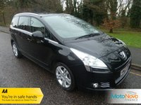 2010 PEUGEOT 5008 1.6 HDI EXCLUSIVE 5d 110 BHP £7000.00