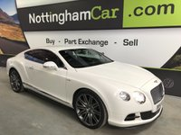 USED 2014 14 BENTLEY CONTINENTAL GT SPEED