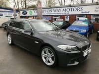 USED 2011 61 BMW 5 SERIES 2.0 520D M SPORT TOURING 5d 181 BHP 0% FINANCE AVAILABLE ON THIS CAR PLEASE CALL 01204 317705