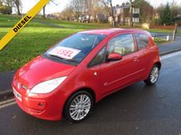 USED 2008 08 MITSUBISHI COLT 1.5 CZ3 DI-D 3d 95 BHP 97,000 GUARANTEED MILES - DIESEL - 3 OWNERS FROM NEW - SERVICE HISTORY