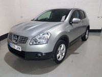 USED 2009 04 NISSAN QASHQAI 1.5 ACENTA DCI 5d 105 BHP Just Serviced/Rear Parking Sensors/Privacy/Bluetooth