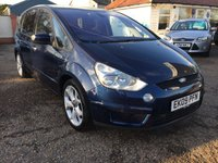 "USED 2009 09 FORD S-MAX 2.2 TITANIUM TDCI 5d 173 BHP FORD SERVICE HISTORY / SAT NAV / 18"" ALLOYS  / 7 SEATER / PRIVACY GLASS"