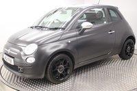 USED 2011 11 FIAT 500 1.2 MATT BLACK 3d 69 BHP