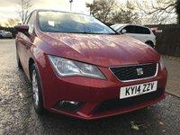 2014 SEAT LEON 1.6 TDI SE 5d 105 BHP £7990.00