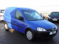 2004 VAUXHALL COMBO VAN 1.7 2000 DI 1d 65 BHP SOLD AS SPARES AND REPAIRS MUST BE TRANSPORTED FROM GARAGE NEED AN ENGINE !! £SOLD