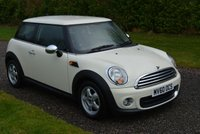 2010 MINI HATCH ONE 1.6 ONE 3d AUTO 98 BHP £5995.00