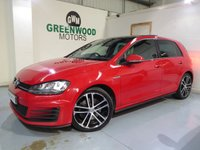 2014 VOLKSWAGEN GOLF 2.0 TDI BlueMotion Tech GTD Hatchback 5dr £11494.00