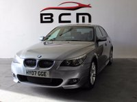 2007 BMW 5 SERIES 2.5 525D M SPORT 4d AUTO 175 BHP £5000.00