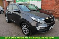 USED 2014 64 KIA SPORTAGE 1.7 CRDI 2 ISG 5d 114 BHP +Panoramic Roof +MORE EXTRAS