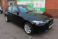 USED 2014 64 BMW 1 SERIES 1.6 114D ES 5d 94 BHP +Full Black LEATHER +EXTRAS.