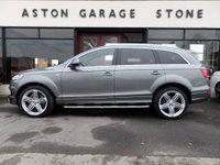 USED 2015 64 AUDI Q7 3.0 TDI QUATTRO S LINE PLUS 5d AUTO 245 BHP **PAN ROOF * BOSE** ** PAN ROOF * BOSE SURROUND * CAMERA * LEATHER **