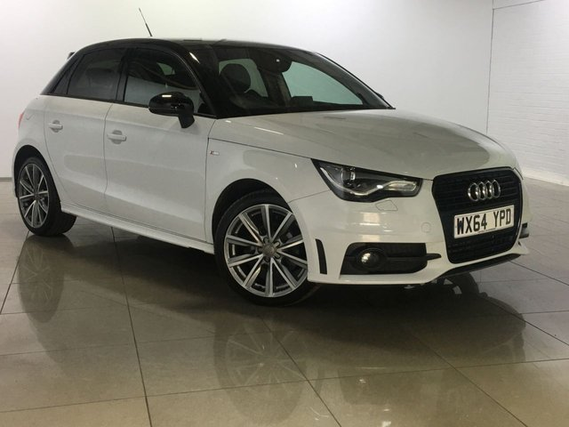 View our 2014 64 AUDI A1 1.2 SPORTBACK TFSI S LINE STYLE EDITION 5d 85 BHP