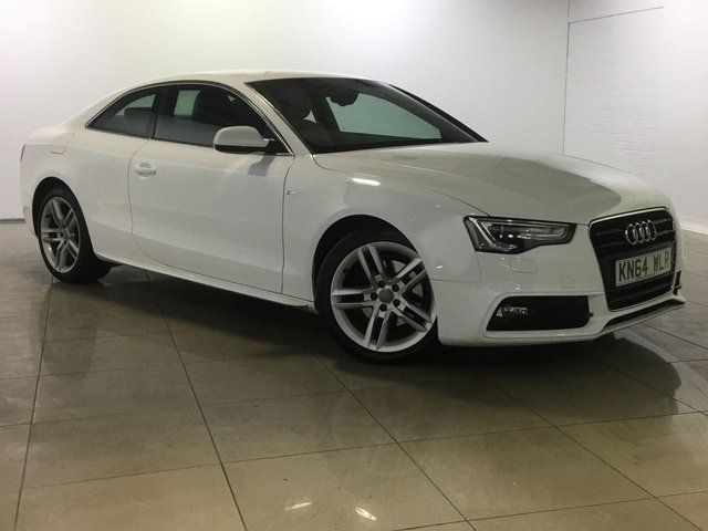 View our 2014 64 AUDI A5 2.0 TDI S LINE S/S 2d 177 BHP