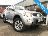 USED 2007 07 MITSUBISHI L200 2.5 ANIMAL LWB DCB 1d 164 BHP AIR CON, CARGO LINING, LEATHER, HARDTOP CANOPY