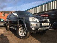 2007 MITSUBISHI L200 2.5 4WD TROJAN LWB DCB 1d 114 BHP £6850.00