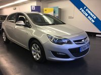 USED 2014 64 VAUXHALL ASTRA 1.6 DESIGN 5d AUTO 115 BHP 1 OWNER, ONLY 25,000 MILES, FULL MAIN DEALER SERVICE HISTORY,