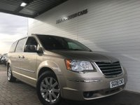 USED 2008 08 CHRYSLER GRAND VOYAGER 2.8 CRD LIMITED 5d AUTO 161 BHP