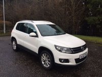 USED 2012 62 VOLKSWAGEN TIGUAN 2.0 SE TDI BLUEMOTION TECHNOLOGY 4MOTION DSG 5d AUTO 138 BHP 6 MONTHS PARTS+ LABOUR WARRANTY+AA COVER