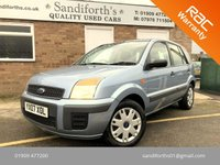 2007 FORD FUSION 1.4 STYLE 5d ONLY 1 FORMER KEEPER, 68K, STUNNING CONDITION  £2000.00
