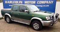 USED 2000 W NISSAN NAVARA 2.5 TD DOUBLE CAB PICK UP 2000 NISSAN NAVARA DOUBLE CAB 4x4 TURBO DIESEL MANUAL IN DARK GREEN METALLIC OVER SILVER FULL LEATHER INTERIOR THIS 17 YEAR OLD TRUCK DRIVES SUPERB