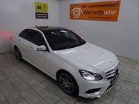 2014 MERCEDES-BENZ E CLASS 2.1 E250 CDI AMG LINE PREMIUM PLUS 4d AUTO 201 BHP £20995.00