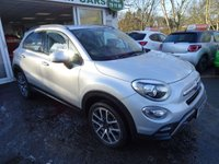 USED 2016 16 FIAT 500X 2.0 MULTIJET CROSS PLUS 5d AUTOMATIC 140 BHP FOUR WHEEL DRIVE Full Service History (Fiat + ourselves), MOT until March 2019, One Previous Owner, Balance of Fiat Warranty until 2019, Automatic, Four Wheel Drive, Diesel
