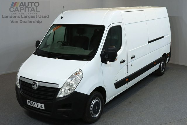 2014 64 VAUXHALL MOVANO 2.3 F3500 L3H2 P/V CDTI 5d 125 BHP FWD LWB HIGH ROOF AIR CONDITION ONE OWNER FROM NEW