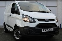 USED 2015 65 FORD TRANSIT CUSTOM 2.2 270 LR P/V 1d 99 BHP **ONE OWNER FROM NEW**