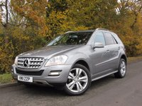 2011 MERCEDES-BENZ M CLASS 3.0 ML350 CDI BLUEEFFICIENCY SPORT 5d AUTO 231 BHP £14995.00