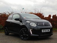 USED 2015 15 CITROEN C1 1.0 FLAIR 3d 68 BHP 128 POINT AA INSPECTED**12 MONTHS FREE AA MEMBERSHIP