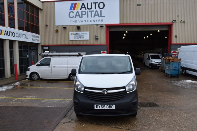 2015 65 VAUXHALL VIVARO 1.6 2900 L2H1 CDTI P/V 5d 115 BHP LWB FWD ECO DIESEL MANUAL VAN  ONE OWNER LOW MILEAGE VEHICLE
