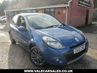 USED 2010 10 RENAULT CLIO 1.1 DYNAMIQUE TOMTOM 3 dr LOW MILEAGE / SAT NAV