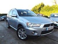 2011 MITSUBISHI OUTLANDER 2.2 DI-D GX 4 5d AUTO 156 BHP £10995.00